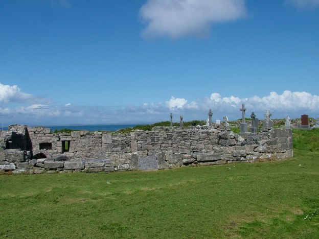 the seven churches ruins, inishmore island, ireland pic 3