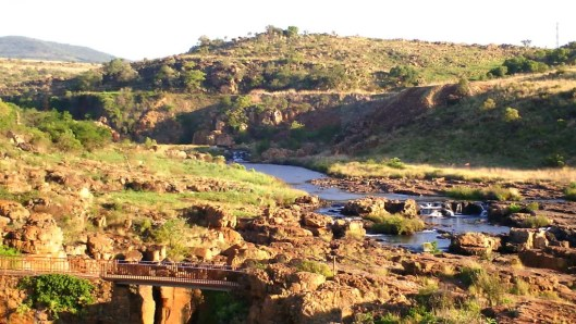 Bourkes Luck Potholes in South Africa