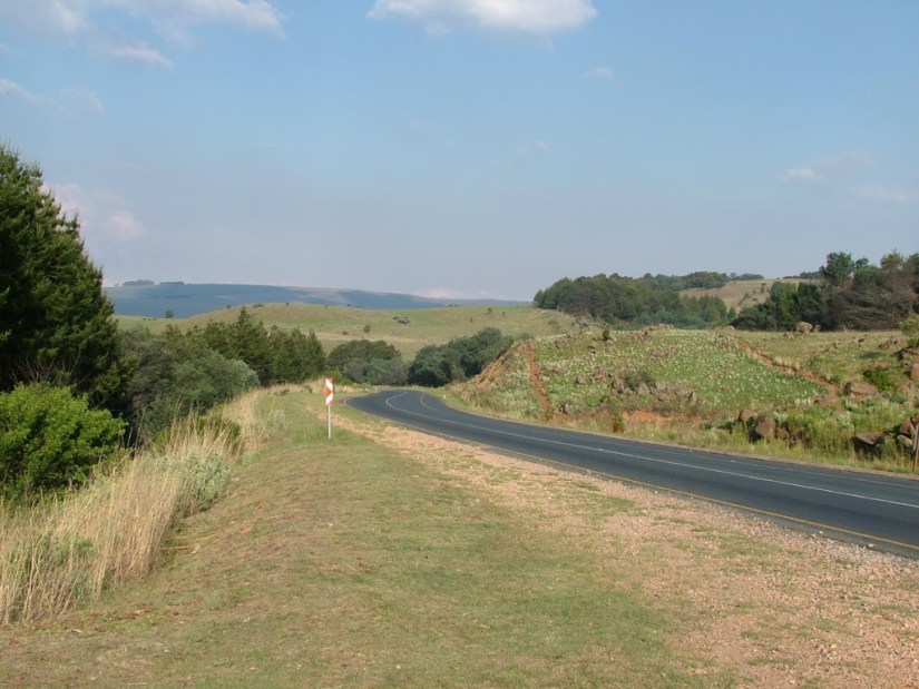 Hwy. 536 to Kruger National Park, in South Africa