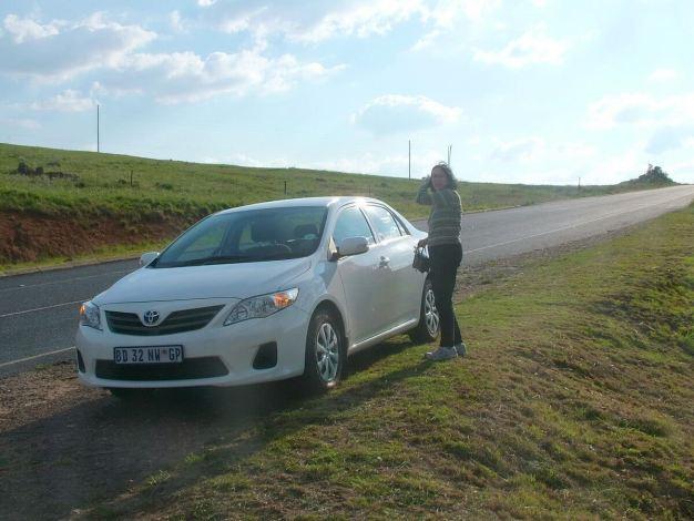 Highway to Kruger National Park in south africa