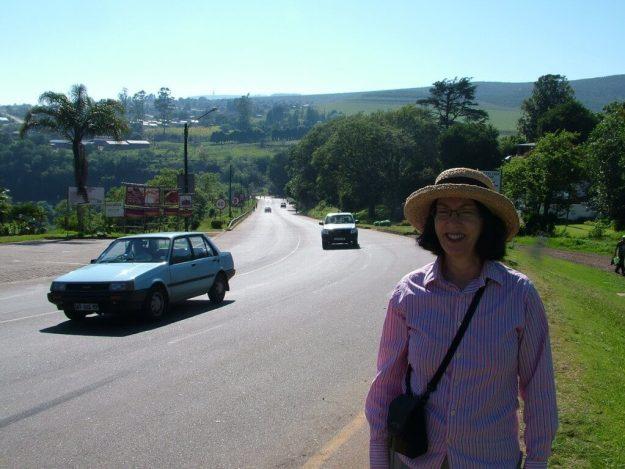 street scene, sabie, south africa, pic 1