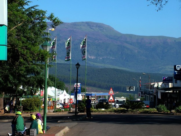 street scene, sabie, south africa, pic 8
