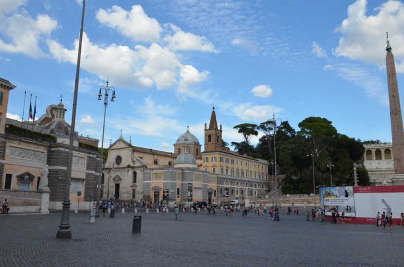 piazza del popola, square, rome, italy, pic 2