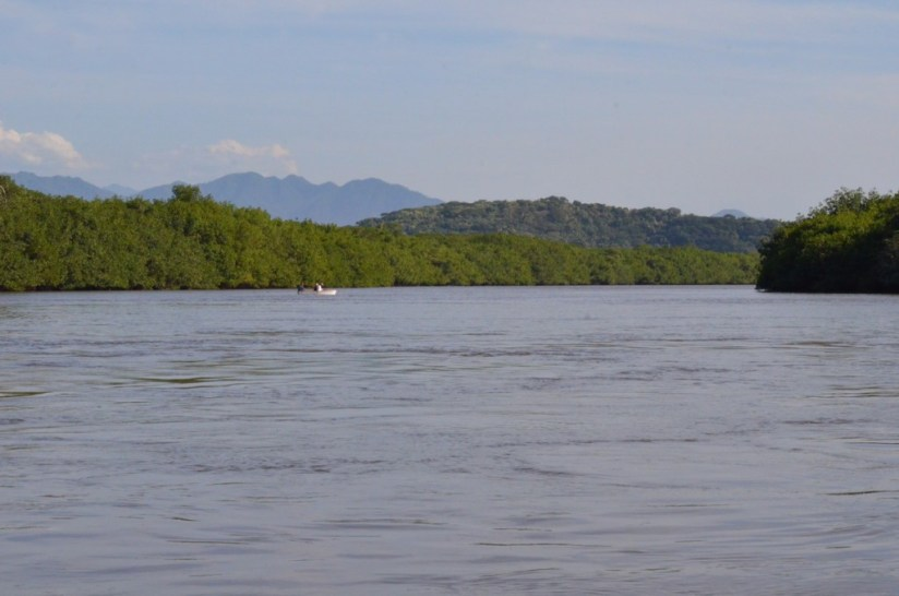 Photo of the San Cristobal River near San Blas, Nayarit, Mexico