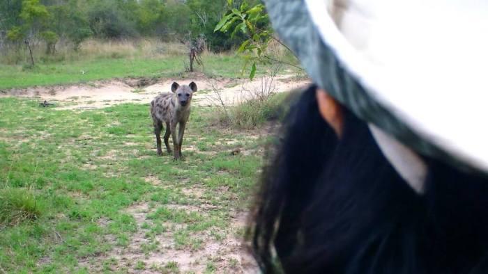 jean on armed safari, kruger national park, south africa, 3