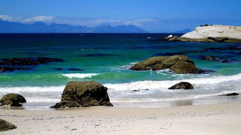 ocean view at boulders beach, table mountain national park, south africa, 2