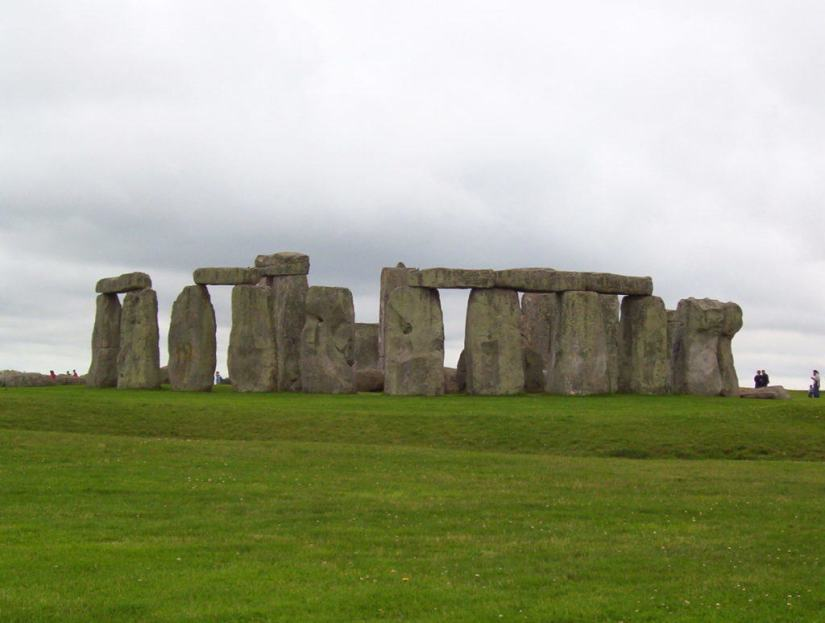 An image of the stone circle at Stonehenge in Wiltshire, England. Photography by Frame To Frame - Bob and Jean