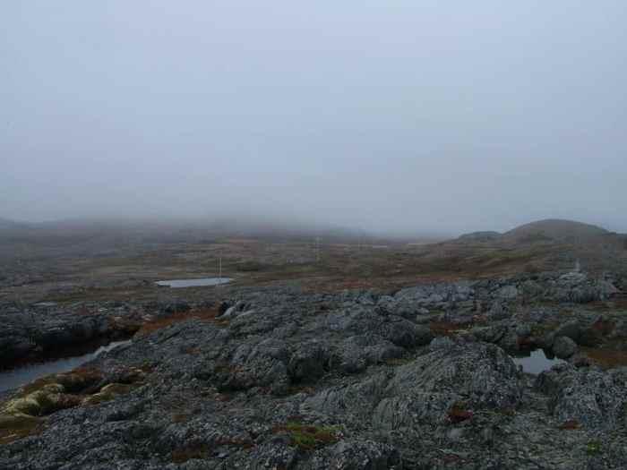 quirpon island terrain, quirpon island, newfoundland, canada