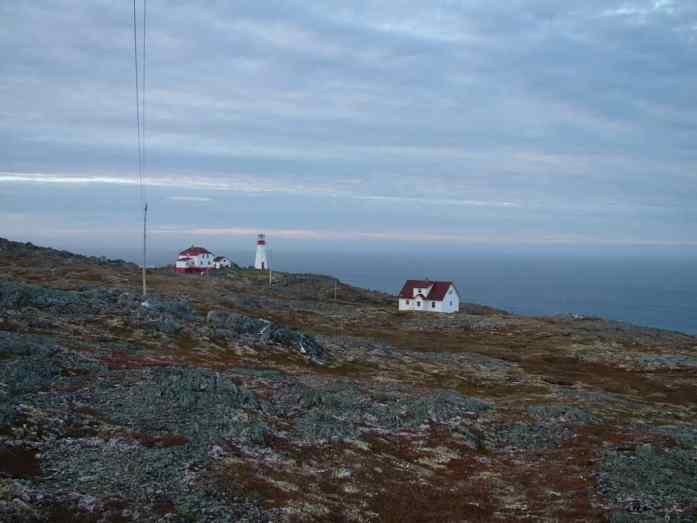 quirpon island lighthouse station, newfoundland, canada