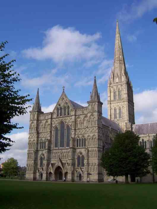 salisbury cathedral, new sarum, wiltshire, england