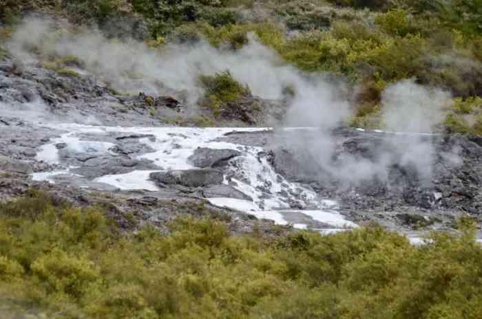 Image of Puarenga Stream at Te Puia Geothermal Preserve, Rotorua, New Zealand