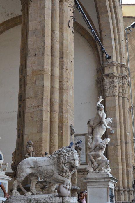 loggia della signoria, florence, italy