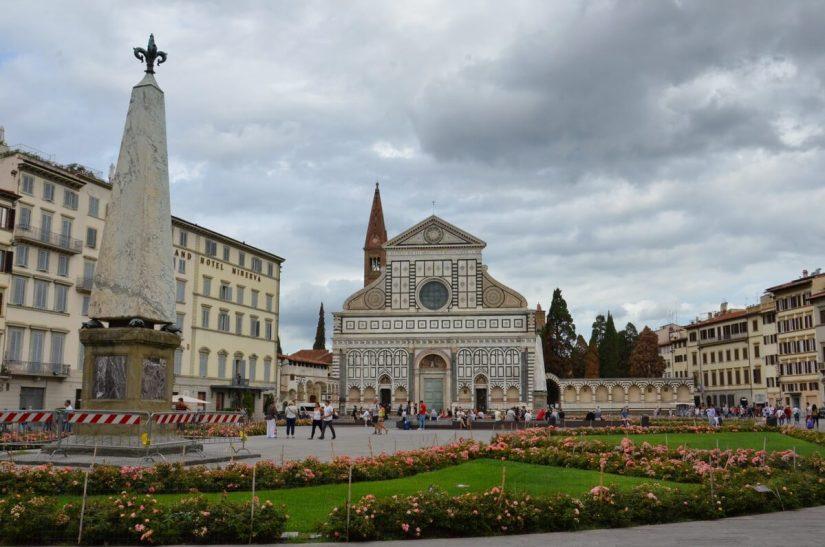 Piazza di Santa Maria Novella, florence, italy