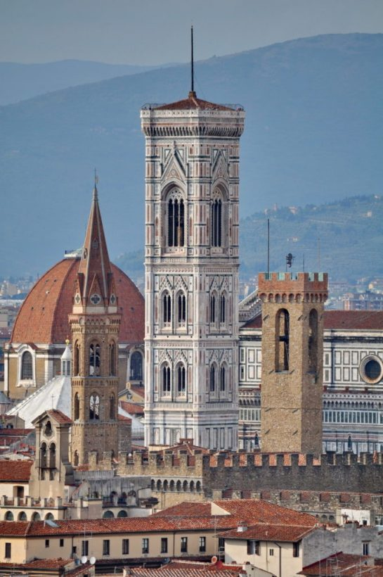 bell tower of florence cathedral, florence, italy