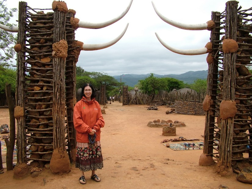 jean at shakaland, kwazulu-natal, south africa