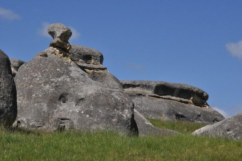 elephant rocks, south island, new zealand