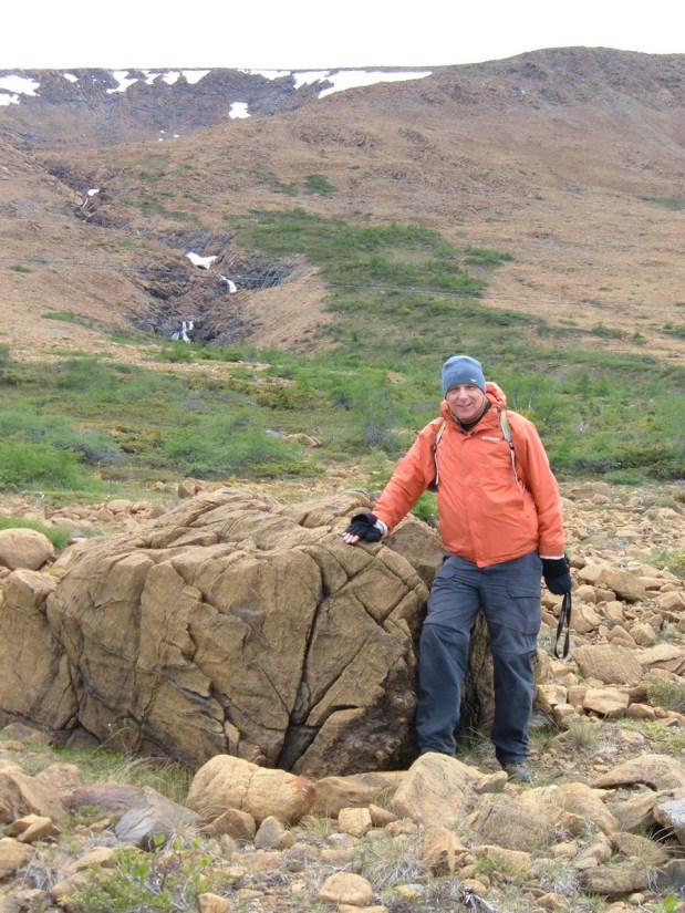 bob at the tablelands, newfoundland, canada