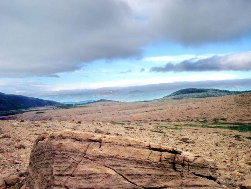 the tablelands, newfoundland, canada