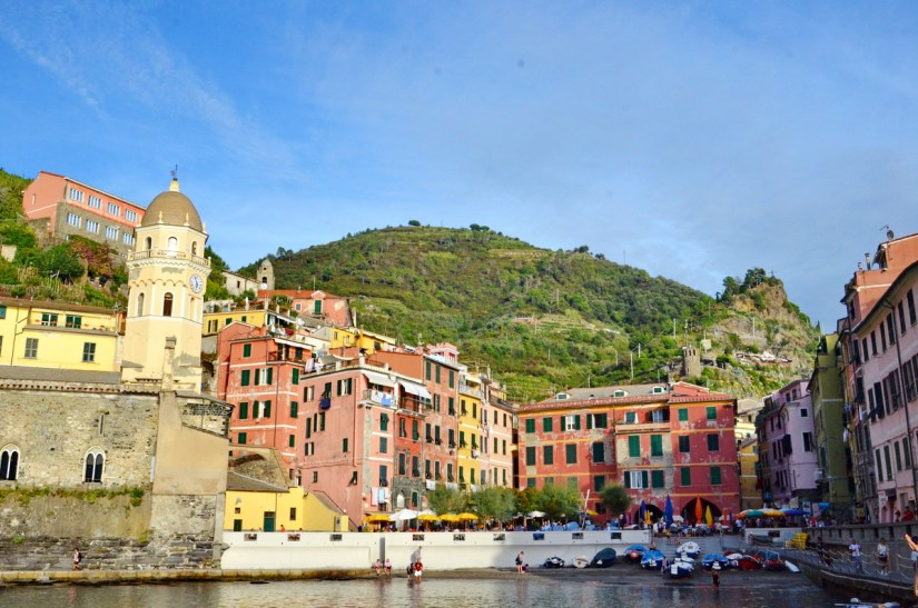 colourful houses, vernazza, cinque terre, italy