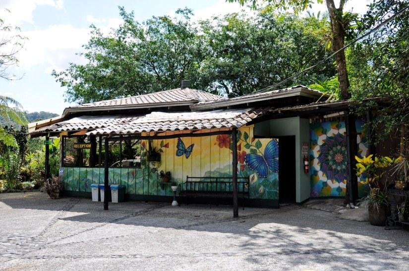 the reception building, kokoro lodge, la fortuna, costa rica