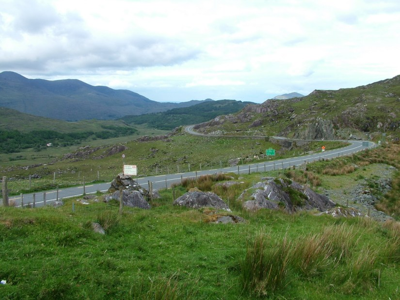 moll's gap, ring of kerry, ireland