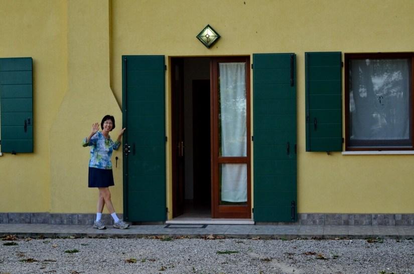 a farmhouse, Rovigo, italy