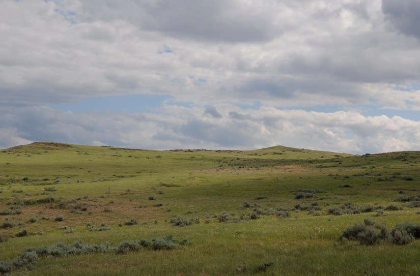 valley of 1000 devils route, grasslands national park east block, saskatchewan