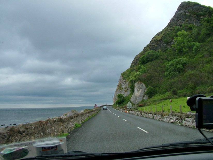 causeway coastal route, county antrim, northern ireland