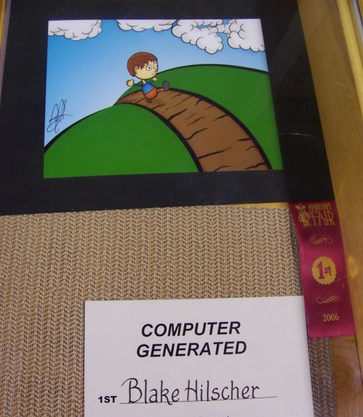 a winning entry in the art competition, markham fair, markham, ontario, 2006