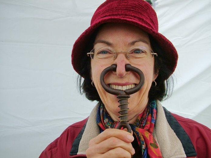 funny person, markham fair, markham, ontario, 2010