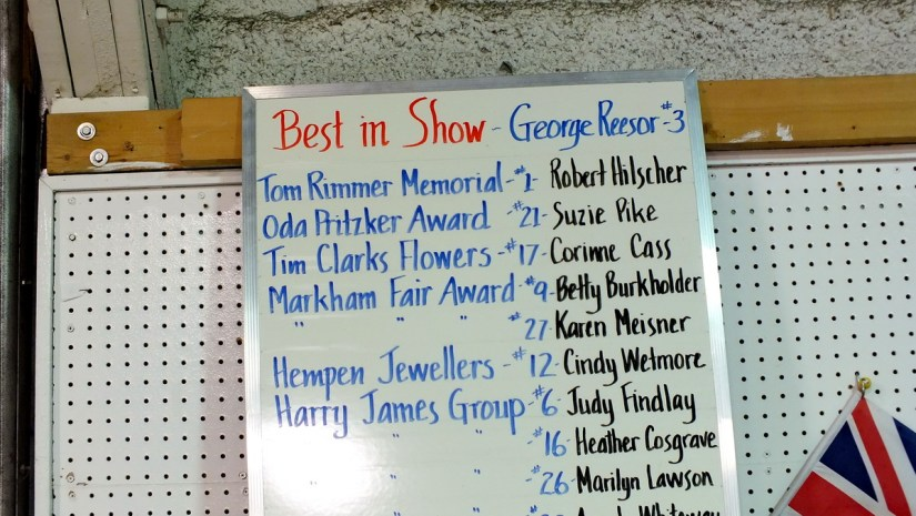 winner's list, carving competition, markham fair, markham, ontario, 2012