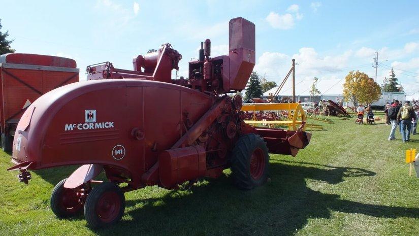 antique farm equipment, markham fair, markham, ontario, 2012