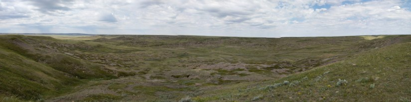 laouenen coulee, grasslands national park, saskatchewan