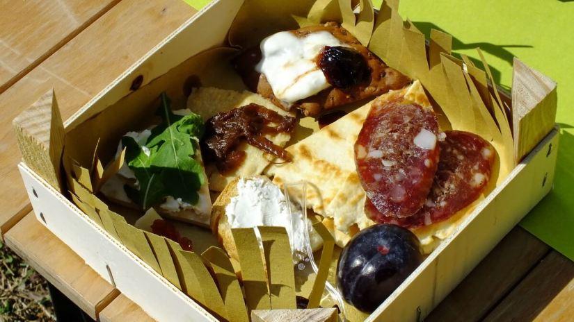 a scampagnata or country picnic, sant'alberto, italy