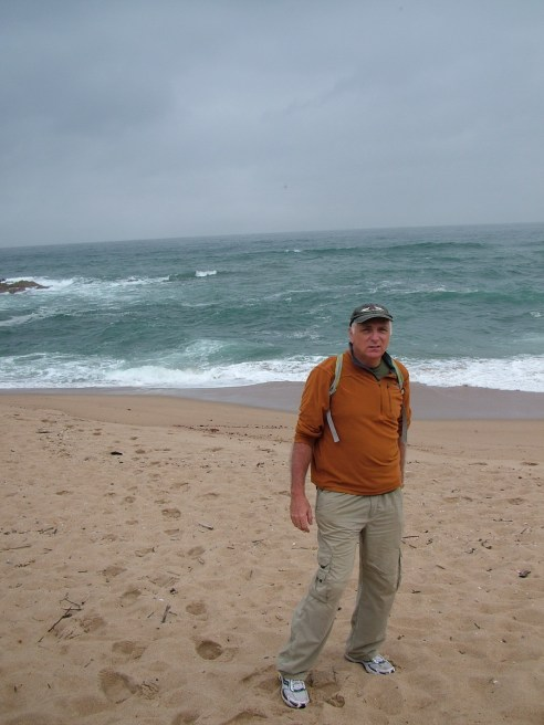 bob at the indian ocean, margate, south africa