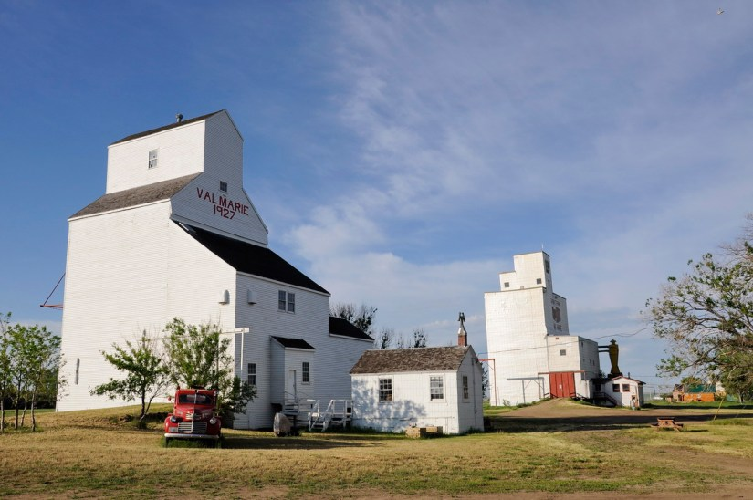 grain elevator, val marie, saskatchewan, near Grasslands National Park