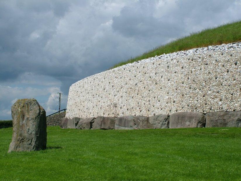 newgrange, county meath, ireland