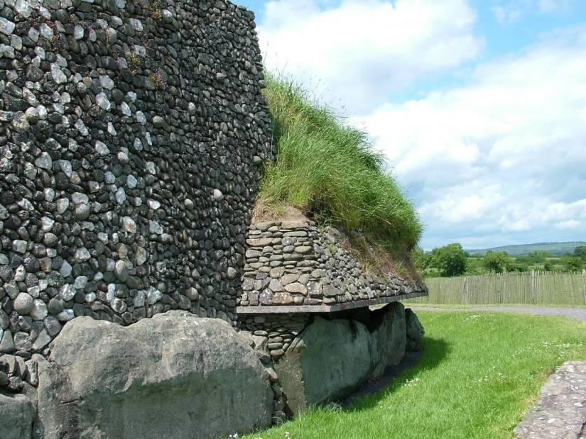 stonework, newgrange, county meath, ireland