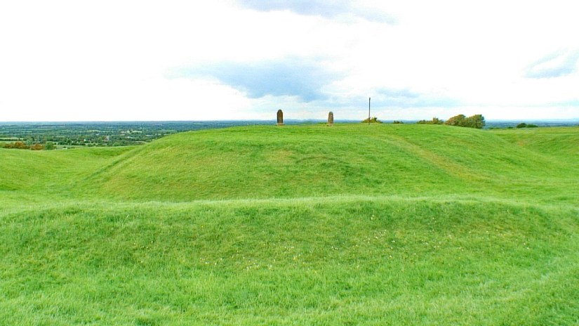 an forradh, royal seat of ancient kings, the hill of tara, county meath, ireland