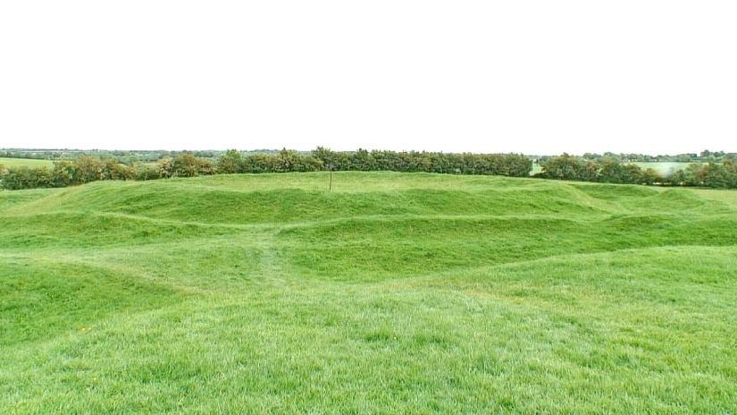 teach chormaic, cormac's house, the hill of tara, county meath, ireland