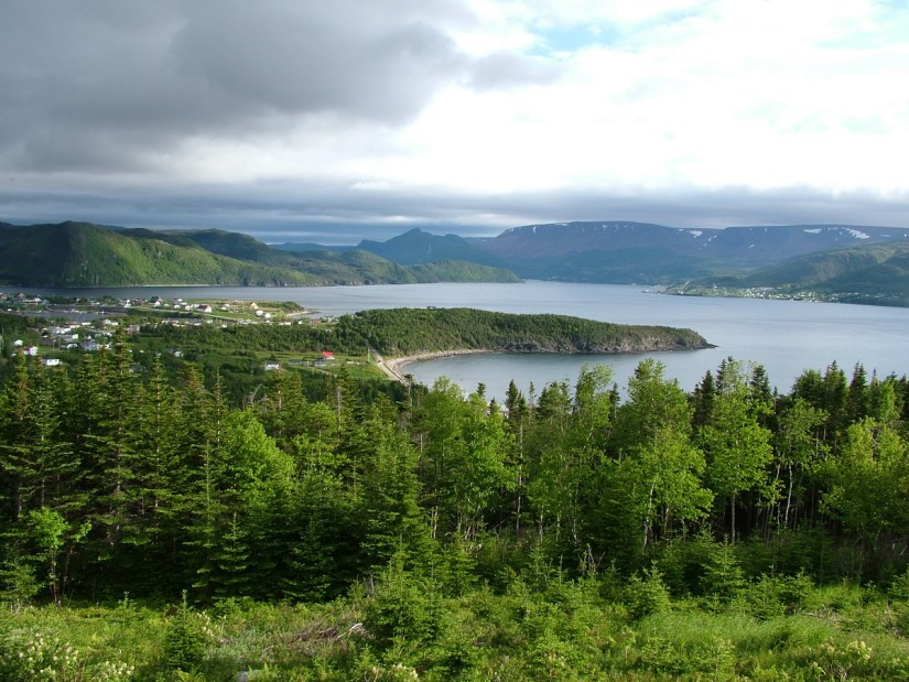 norris point and bonne bay, newfoundland, canada