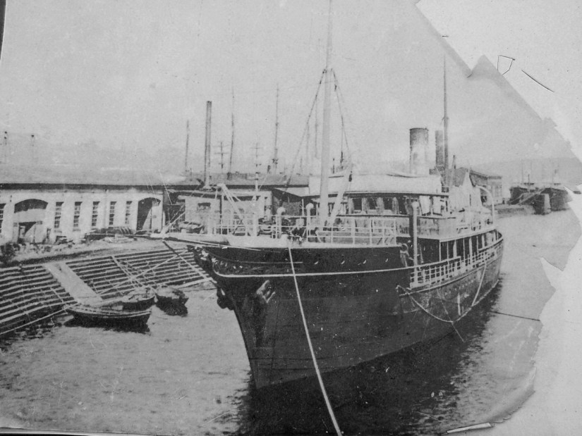 historical photo of the s.s. ethie, newfoundland, canada