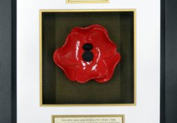 Royal-Welch-Fusiliers-Ceramic-Framed-Poppy