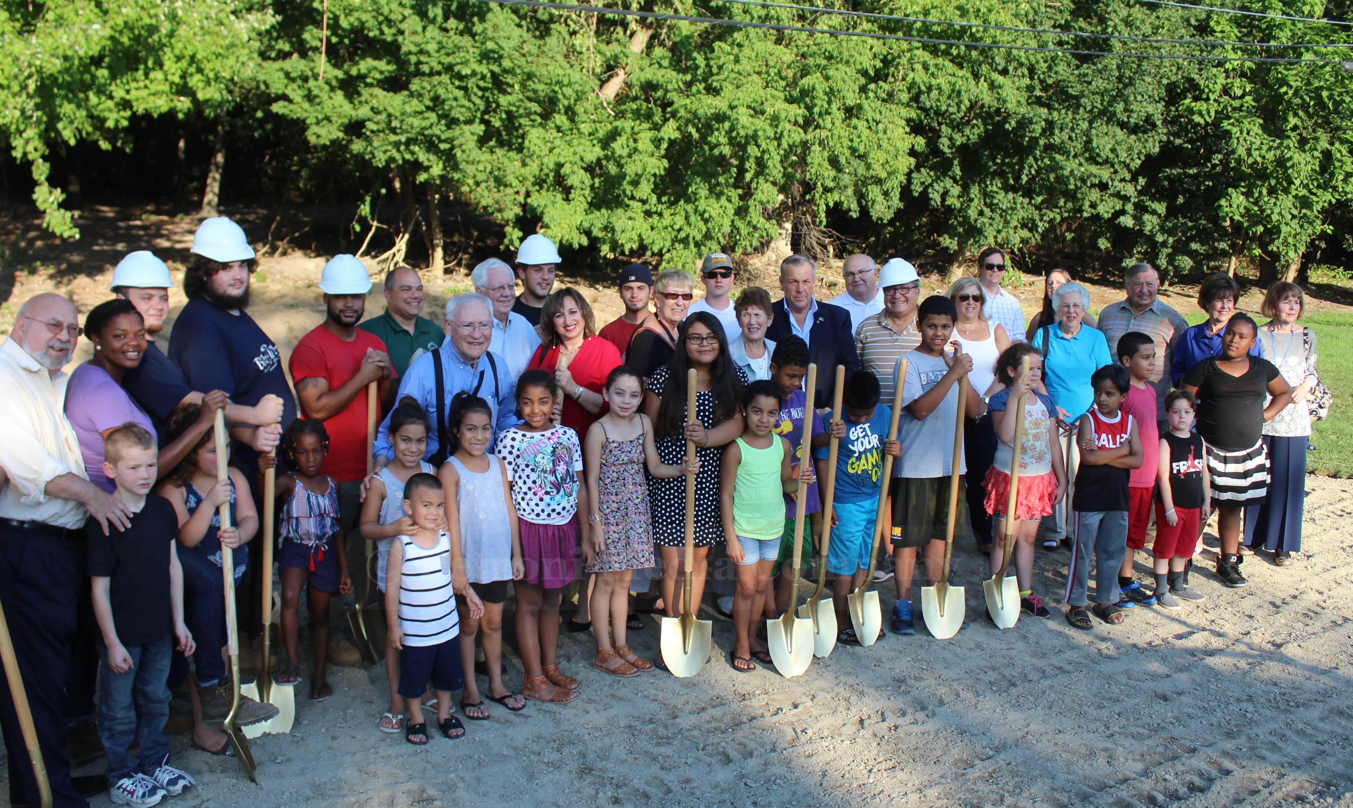 SLIDESHOW: Groundbreaking Ceremony For Hoops & Homework