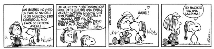 Abbiamo tutte bisogno di uno Snoopy