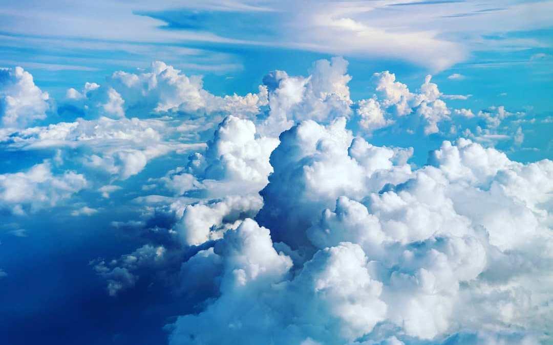 Un cielo scomposto