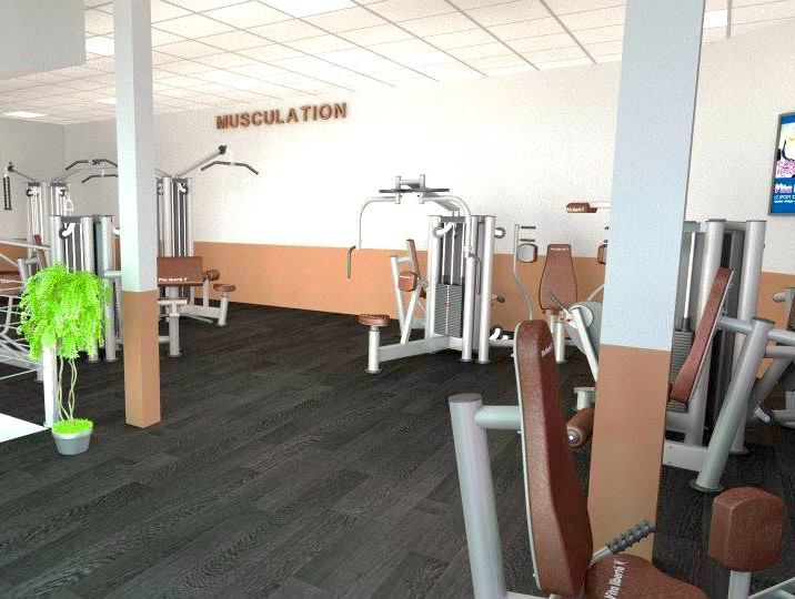 equipment gym facility vita liberté bordeaux france