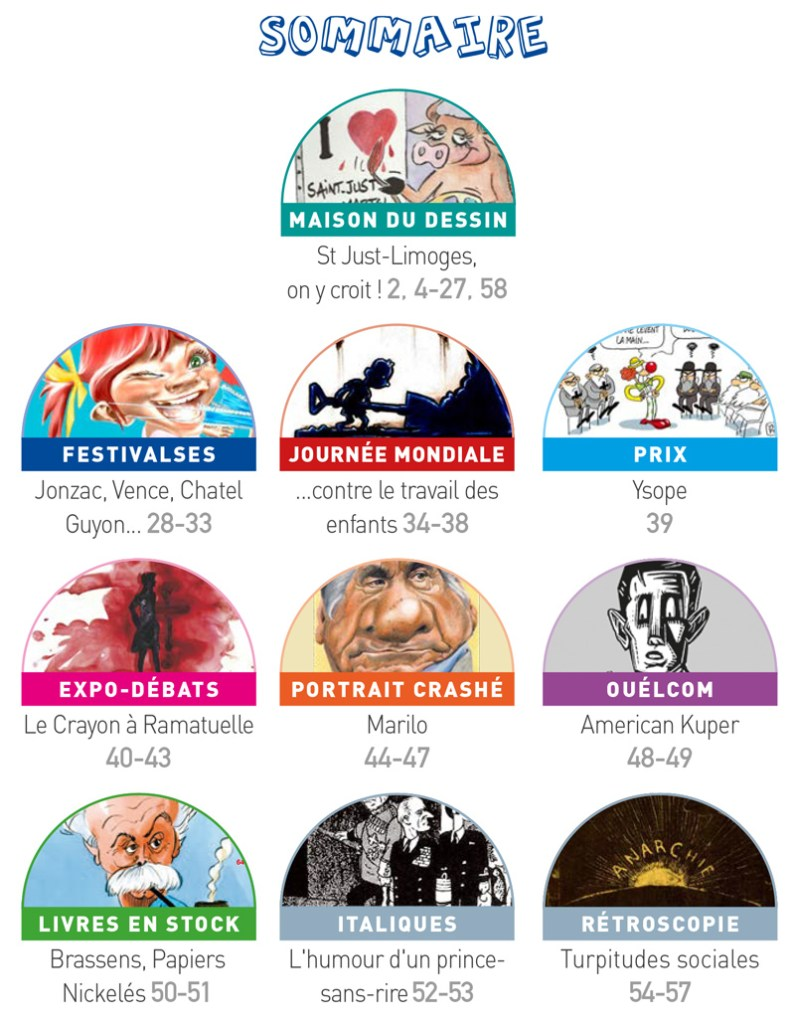 France-Cartoons n°18 _ sommaire