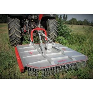 Debroussailleuse Semi Forestiere A Lames Ou A Chaines Pour Tracteur De 50 Cv A 140 Cv France Compact