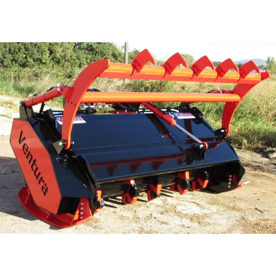 Broyeur Forestier A Marteaux Fixes En Widia Pour Tracteurs De 70 A 150 Cv